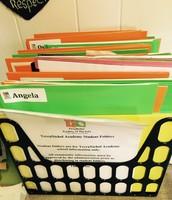 Student School Folder File
