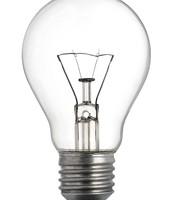 Used in lightbulbs