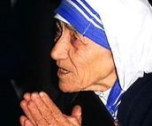 Photograph of Mother Teresa