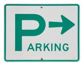 Parking and drop off zones