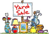 May 2nd New Date for the Community Yard Sale