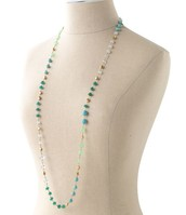 Aileen Necklace - Turquoise