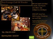 Teen Lounge Cafe Of  Powder Springs