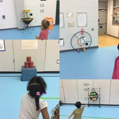 PE Stations to Practice Throwing
