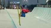 Competing in Halfpipe