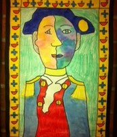Picasso-style Portraits of Historical Figures