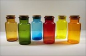 Colored Glass Containers