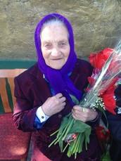 Це Моя пра бабуся Євдокія