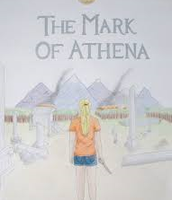 Illistration of Mark of Athena front cover