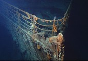 Scuba-diving to the Titanic Wreckage in the Atlantic Ocean