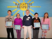 Evergreen Students Honored for Outstanding Behavior