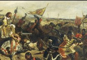 Who was the Hundred Years' war between?