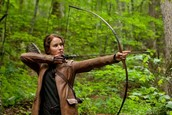 Katniss and her bow!