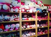 The Hello Kitty Shelf
