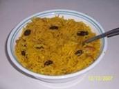 Bassmati rice pilaf