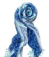 CAPRI WRAP BLUE $25.00
