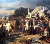 What happened in the Battle of Yorktown ?