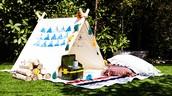 Back yard Camping!