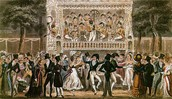 Large ballroom dancing