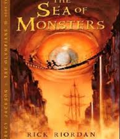 Percy Jackson and sea monsters book