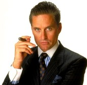 "Gordon Gekko: ""Greed is Good"""