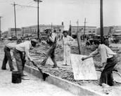 Construction on a new hospital in North Carolina .