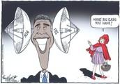 NSA political cartoon