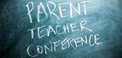 PARENT / TEACHER CONFERENCES - MONDAY, OCTOBER 12