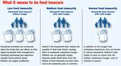Hay diferentes tipos de hogares con inseguridad alimentaria.