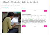 13 Tips for Monotoring Kids' Social Media