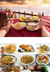 Exotic and authentic Indian finger foods