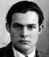 Ernest Hemingway (July 21, 1899 – July 2, 1961)