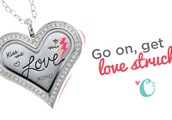 Our New Heart Shaped Locket