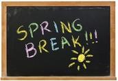 March Break is Here!