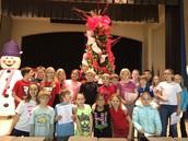 Ms. Hildenbrand's Class Carolers