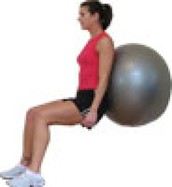Ball Squat
