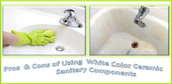 Do Color Choice and Modernity in Ceramic Sanitary Wares Influence the Outlook of Washroom?