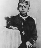 How did Gandhi start off?