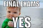 Semester I Exams on December 16, 17, 18