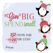 Spend a little, get a lot!