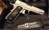 Sig 1911 GI Wounded Warrior Engraved 45 acp