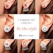 New Ultra-Convertible Earring!