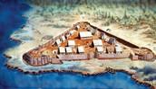 Jamestown was established BECAUSE.............