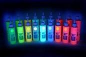 neon glow in the dark paint