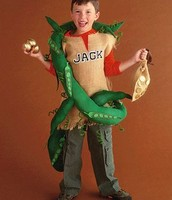 Jack with his beanstalk