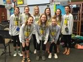 7th GRADE GIRLS' BASKETBALL TEAM