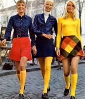 70's Hippie Skirts