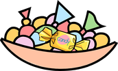 Candy and Small Prizes