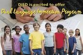 """Dual Language Immersion Program!"""