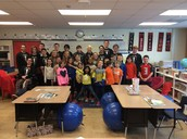 LHS Turnabout Court and Student Council Read to Grovers
